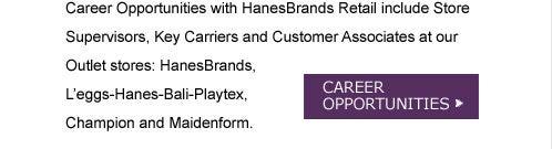 Retail Career Opportunities