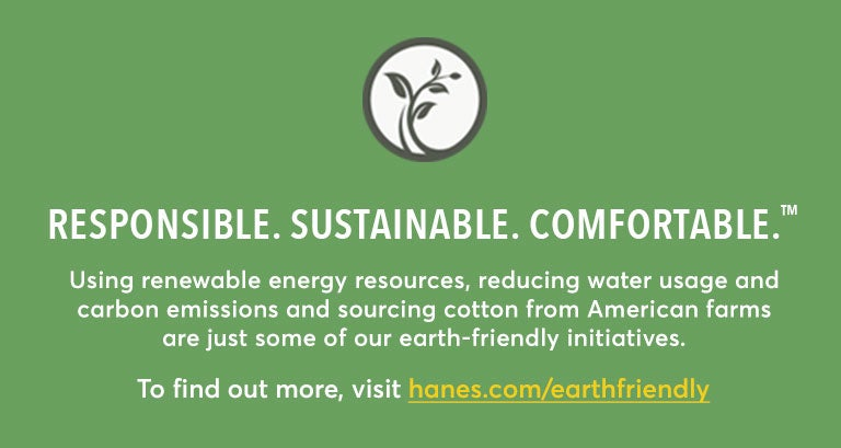 Responsible. Sustainable. Comfortable.